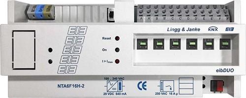 Lingg&Janke Netzteil-Aktor 6-fach 16A 640mA NTA6F16H-2