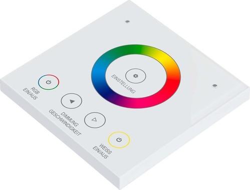 EVN Lichttechnik Funk-Wandpanel RW ca.20m IP20 WPRGBWW