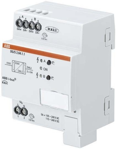 ABB Stotz S&J DALI-Gateway Basic 2-fach DG/S2.64.1.1