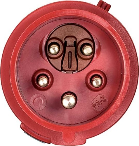 Mennekes Phasenwender ProTOP II 16A,5p,6h,400V 3319A