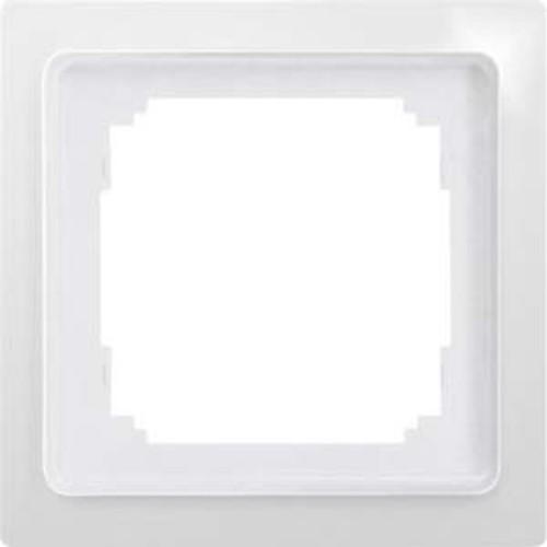 Eltako 1-fach-Universalrahmen glänzend weiß R1UE55-gw