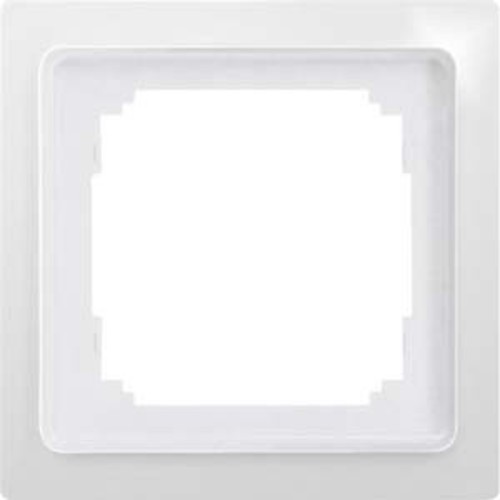 Eltako 1-fach-Universalrahmen schwarz glänzend R1UE55-sg
