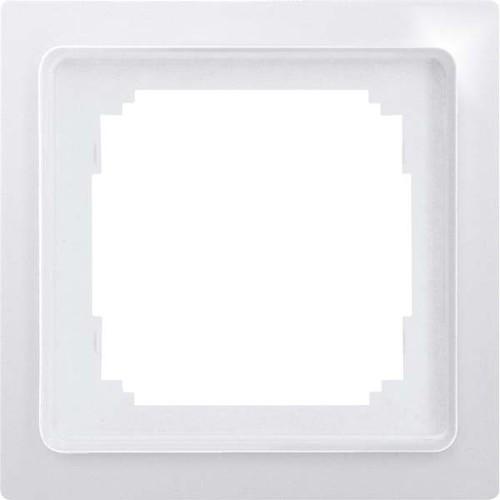 Eltako 1-fach-Universalrahmen reinweiß glänzend R1UE-wg
