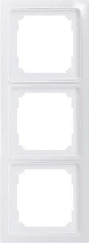 Eltako 3-fach-Universalrahmen glänzend weiß R3UE55-gw
