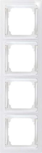 Eltako 4-fach-Universalrahmen glänzend weiß R4UE55-gw