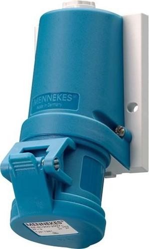 Mennekes Wanddose TwinCONTACT 16A,3p,6h,230V,IP44 1341