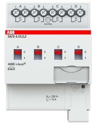 ABB Stotz S&J Schaltaktor 4-fach ch, 10A REG SA/S4.10.2.2