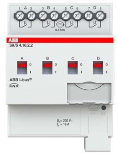 ABB Stotz S&J Schaltaktor 4-fach ch, 16A, REG SA/S4.16.2.2