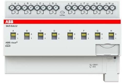ABB Stotz S&J Schaltaktor 8fach, 6A, REG SA/S8.6.2.2