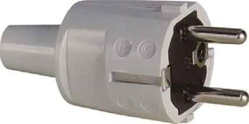 ABL Sursum Schuko-Stecker PVC weiß 1418080