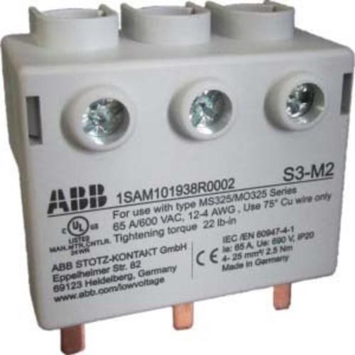 ABB Stotz S&J 3Ph.-Einspeiseblock S3-M2