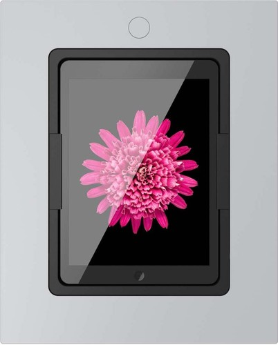 Viveroo iPad Wandhalterung m.Ladefunktion si squareSupSilverAir2