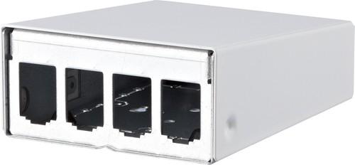 BTR NETCOM AP-Gehäuse leer E-DATmodul 4er reinweiß 130861-0402-E