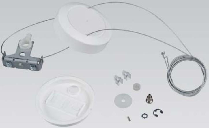 Siteco Doppelseilabhängung 1lampig weiß 5LF913020D