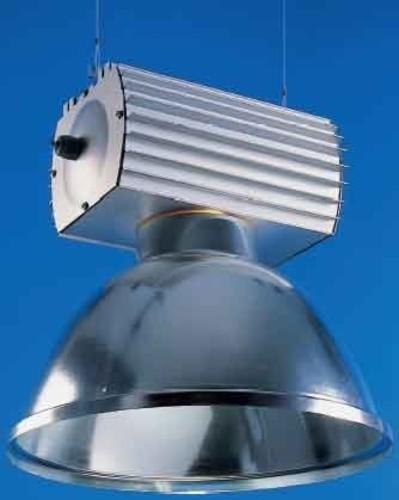 Leipziger Leuchten Hallenleuchte aluminium NAV-E/HQI-E 400 ind. 9.407.2091.08
