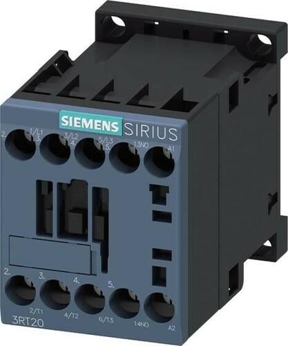 Siemens Indus.Sector Schütz 230AC 3KW/400V,1S 3RT2015-1AP01