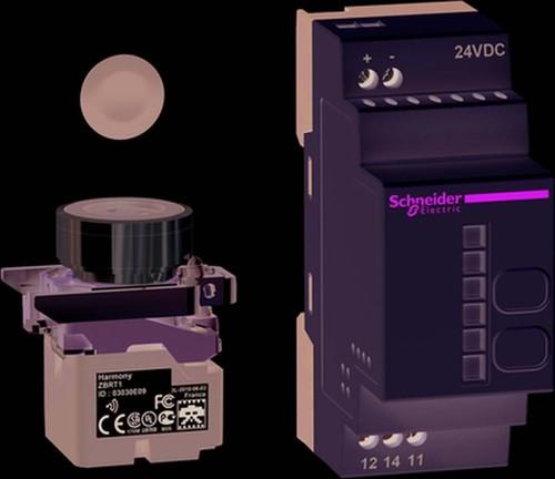 Schneider Electric Drucktaster-Set 24V DC Standard-Receiver XB4RFB01