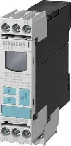 Siemens Indus.Sector Phasenfolgeüberwachung 3x 160-690VAC 2W 3UG4615-1CR20