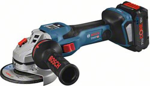 Bosch Power Tools Akku-Winkelschleifer 18 V, L-BOXX GWS 18V-15 SC