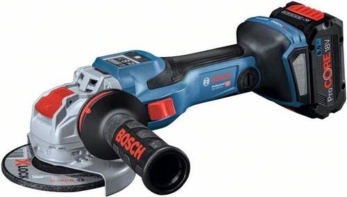 Bosch Power Tools Akku-Winkelschleifer 18 V, L-BOXX GWX 18V-15 SC