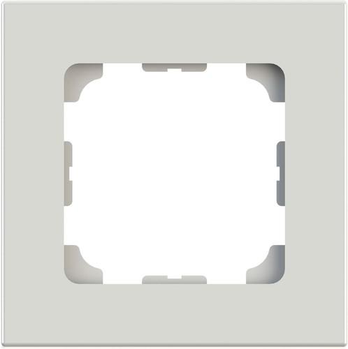 Telegärtner Rahmen 81x81mm 1-fach ch,alpinweiss 100000507