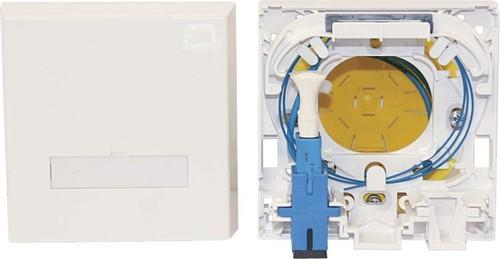 Corning LWL-Anschlussdose f.2SC-Simpl/1 LC-Du XS003800660