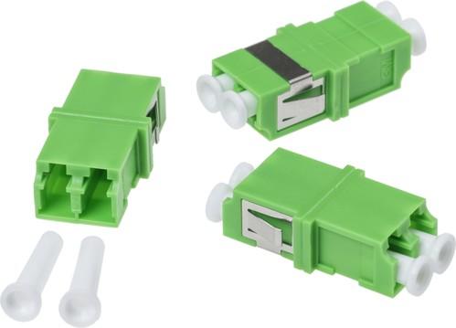 Corning LC/APC-Kupplung Singlemode duplex DE010022882