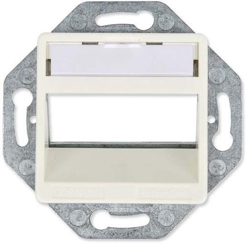 Corning Rahmenset 50x50mm rws, RAL9010 CAXXSE-S0301-C002