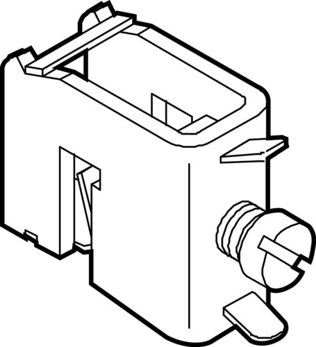 ABN Sammelschienenklemme 16 qmm.f.CU 12x10 XSH16-1