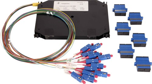 Telegärtner LWL Erweiterungs-Set 6xLCD 50/125 OM4 TN-ES-6LCD-50-OM4