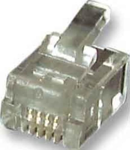 EFB-Elektronik Modular-Stecker RJ11 f.Flachbandkbl. 37511.1-100 (VE100)