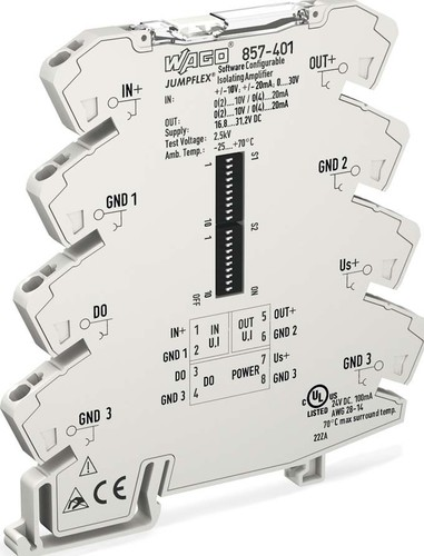 WAGO Kontakttechnik Trennverstärker konfigurierbar 857-401