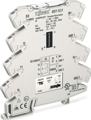 WAGO Kontakttechnik Grenzwertschalter konfigurierbar 857-531