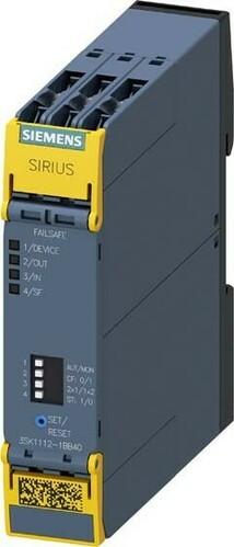 Siemens Indus.Sector Sicherheitsschaltgerät US=24VDC 3SK1112-1BB40