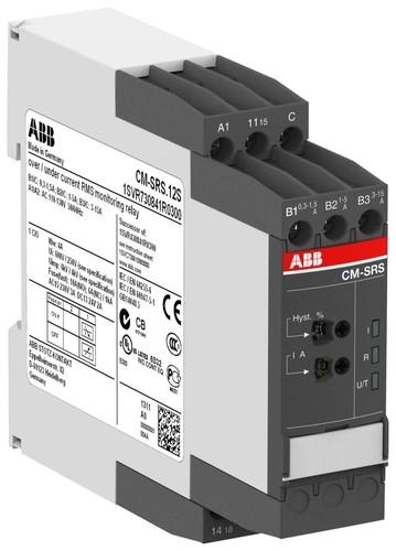 ABB Stotz S&J Stromüberwachungsrelais 1W 0,3-15A CM-SRS.12S