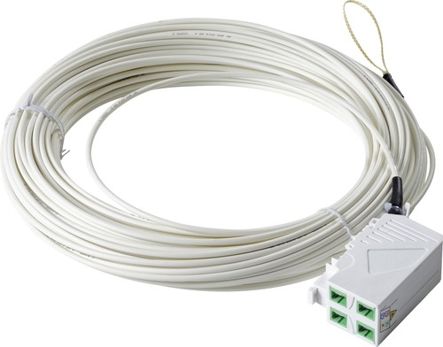 Acome Komponenten FTTH-Hutschienenadapter m.Kuppl.4xSC/APC 30m IO11891618230430