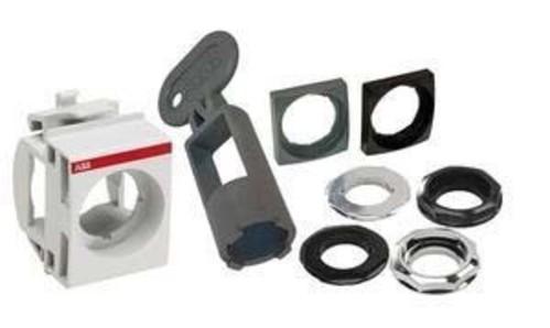 ABB Stotz S&J Blindverschluss 22mm, schwarz MA1-8130
