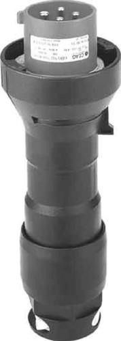 Ceag Sicherheitst. Stecker 500V 4Pol GHG 512 7407 R0001
