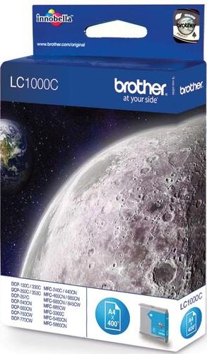 Brother Tintenpatrone cyan LC-1000C