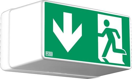 RZB Sicherheitsleuchte weiß LED 2,1W/3h 671780.002