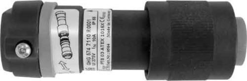 Ceag Sicherheitst. Stecker 4p.,24VAC GHG5717608R0001