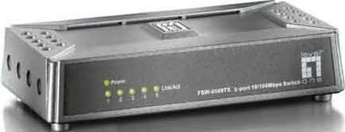 EFB-Elektronik Fast Ethernet-Switch 5 Port, 10/100Mbps FSW-0508TX