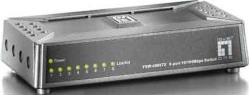 EFB-Elektronik Fast Ethernet-Switch 8 Port, 10/100Mbps FSW-0808TX