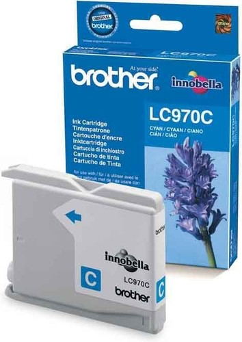 Brother Tintenpatrone cyan LC-970C