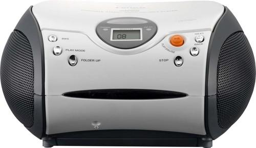 LENCO UKW-Radio m.CD stereo,weiß SCD-24 white