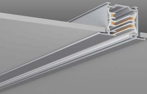 RZB 3Ph-Flügelschiene aluminium 1000mm 701067.004