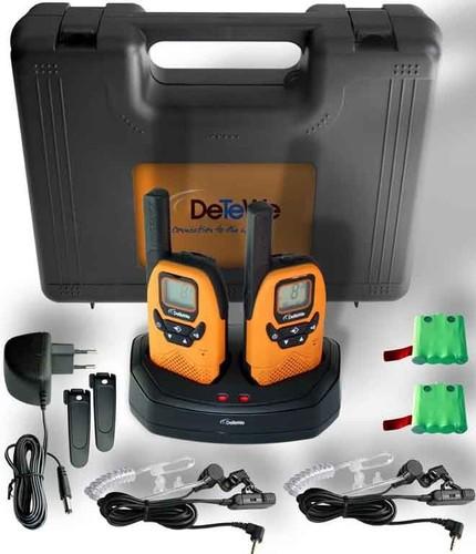 DeTeWe Funkgeräte-Set PMR Outdoor8000 DuoCase