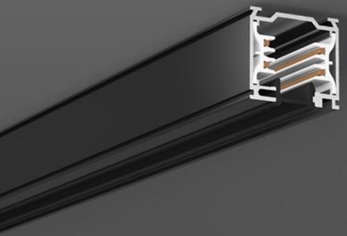 RZB Abdeckung für 3Ph-Schiene schwarz 1000mm 701075.003