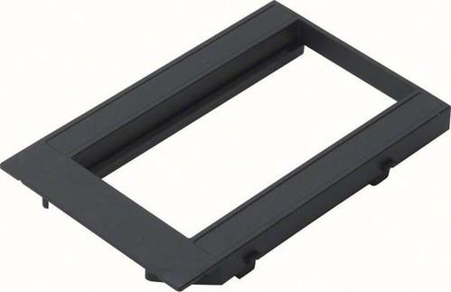 Tehalit Abdeckplatte für 2 Geräte Mosaik 2 Modul 45 GBMBV34R2