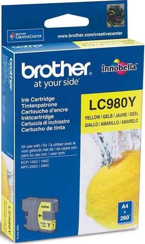 Brother Tintenpatrone ge LC-980Y